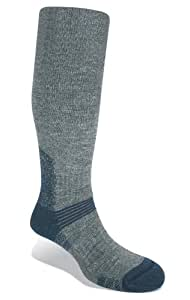 Bridgedale Knee Socks Endurance Summit Grey/Blue - Men's Large 9 - 11.5 UK