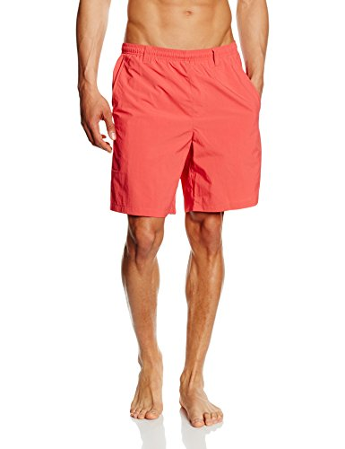 Columbia Herren Badehose Backcast III Water Shorts sunset red