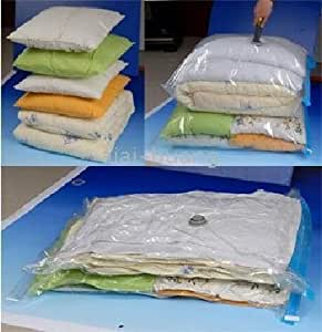 Large Vacuum Storage Bags for Clothes – 90x125cm - Pack of 2
