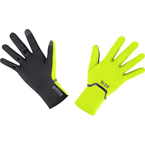GORE Wear M Unisex Stretch Handschuhe GORE-TEX INFINIUM, 11, Neon-Gelb/Schwarz