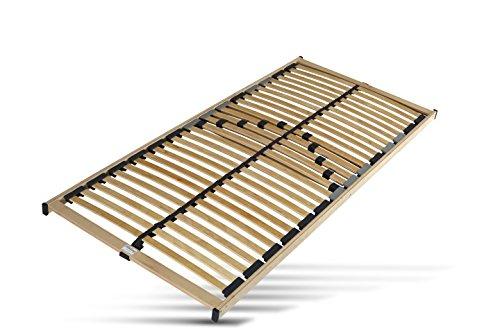 Hilding Sweden Lattenrost, 140 x 200 cm, mit 28 Latten aus Holz (nicht verstellbar), Fertig montiert, Geeignet für alle Matratzen, Härtegrad 5-fach justierbar