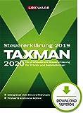 Lexware Taxman 2020 Download für das Steuerjahr 2019|Übersichtliche Steuererklärungs-Software für Arbeitnehmer, Familien, Studenten, im Ausland Beschäftigte -