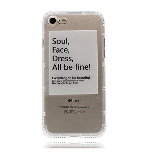 iPhone 6 Plus Custodia, Prova di scossa anti-graffio [ Disney Cartoon Cactus Ragazz ] TPU Silicone Trasparente Nuovo Gel Soft Case iPhone 6 Plus /6S Plus Custodia (5.5 pollici) durevole Cartoon Cover # # 2