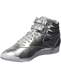 Reebok Freestyle Hi Metallic, Sneaker a Collo Alto Donna