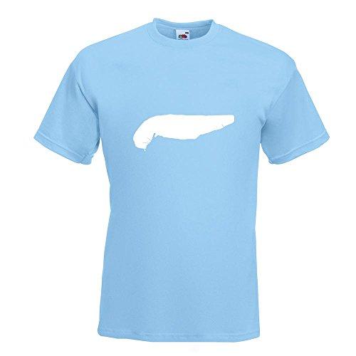 KIWISTAR - Spiekeroog - Deutschland - Insel T-Shirt in 15 verschiedenen Farben - Herren Funshirt bedruckt Design Sprüche Spruch Motive Oberteil Baumwolle Print Größe S M L XL XXL Himmelblau
