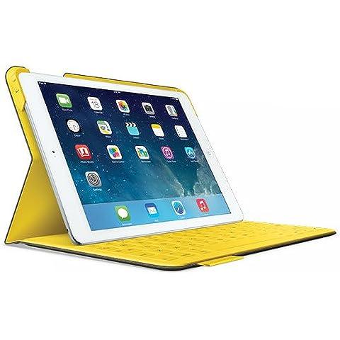 Logitech 920-006045 - Funda para Apple iPad Air, gris y amarillo