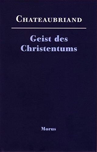 Geist des Christentums oder Schönheiten der christlichen Religion