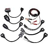 Universal Auto OBDII OBD2 Diagnose Adapter Kabelsatz für AutoCom Delphi CDP DS150E (8 Stück)
