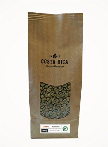 Rohkaffee, Grüner Kaffee, 100% Premium Arabica, SHB - 1.000g