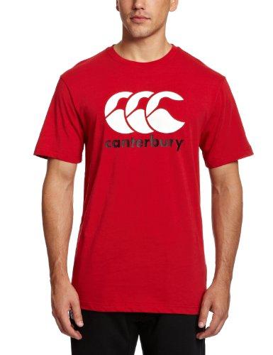 Canterbury Herren Bekleidung CCC Logo T Shirt rot, S