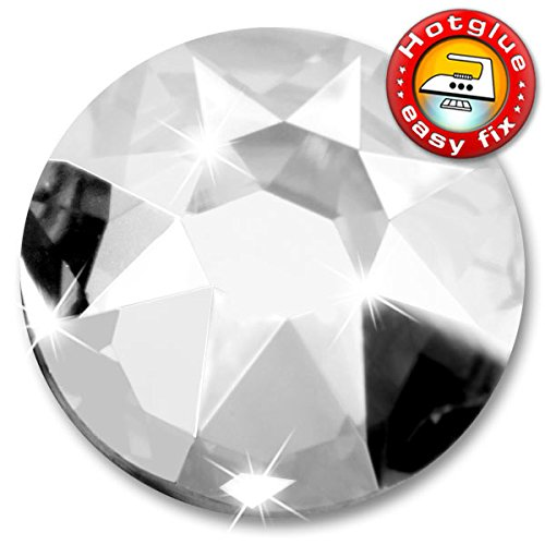 Ss30 Crystal (36 Stück SWAROVSKI Kristalle 2078 XIRIUS Hotfix, Farbe Crystal, SS30 (Ø ca. 6,4 mm), inkl. ShineStone Wender/Positionierer)