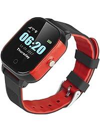 Reloj Inteligente Inteligente Pulsera Anti-Perdida Impermeable Reloj para Niños GPS Brújula WiFi lbs…