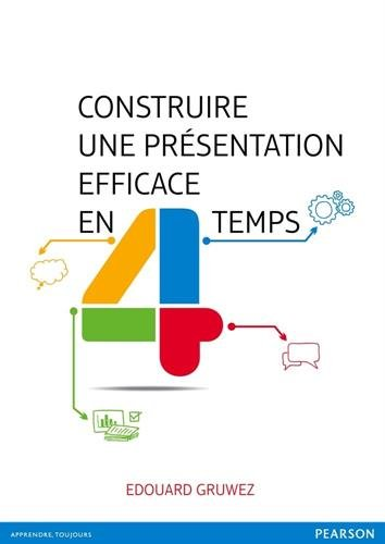 Construire une présentation efficace en 4 temps