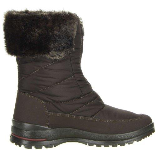 M&G Damen Winterstiefel Snowboots braun Braun