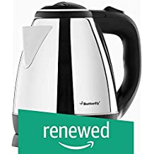 (Renewed) Butterfly EKN 1.5-Litre Water Kettle (Silver with Black)