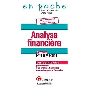 Analyse financière 2014-2015, 5ème Ed