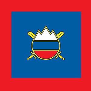 DIPLOMAT Flagge Chief of General Staff of the Slovenian Army | Na?elnika General?taba Slovenske vojske | Fahne 0.06m² | 25x25cm für Flags Autofahnen