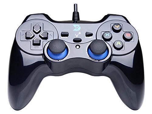 LUYION USB Cablata Controller per Gamepad Design ergonomico Portatile Maniglia del Joystick Supporto PC (Windows XP / 7/8 / 8.1/10) PS3 androide (Architettura PS)