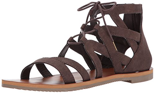 Volcom Donna Bowie Road Sandal - Marrone, 3 UK
