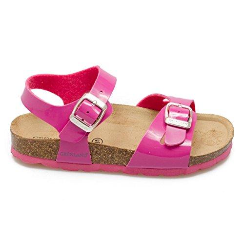 Grunland SB0018-40 Sandalo Bambina Vernice Fuxia Fuxia 24