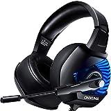 ONIKUMA Auriculares Gaming 7.1 con Micrófono para PS4/PC/Xbox...