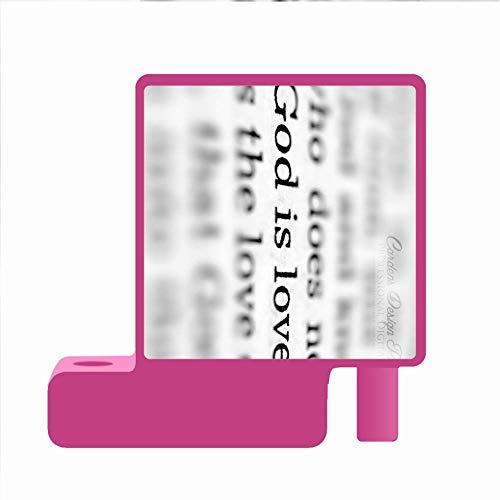 Drucken Bible Quotes Kid Verwenden Sie Auf Red Pen Container Pc Sohle, Einzig, Alleinig