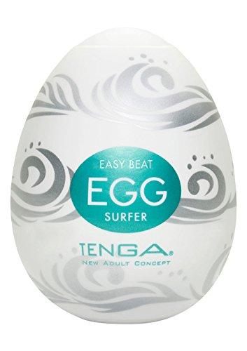 Tenga Egg Einweg-Masturbationsei Surfer, Hard Boiled