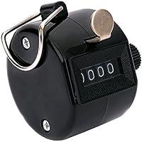 4dígitos mano número Golf Tally Manual Contador Clicker contador de con anillo de dedo soporte