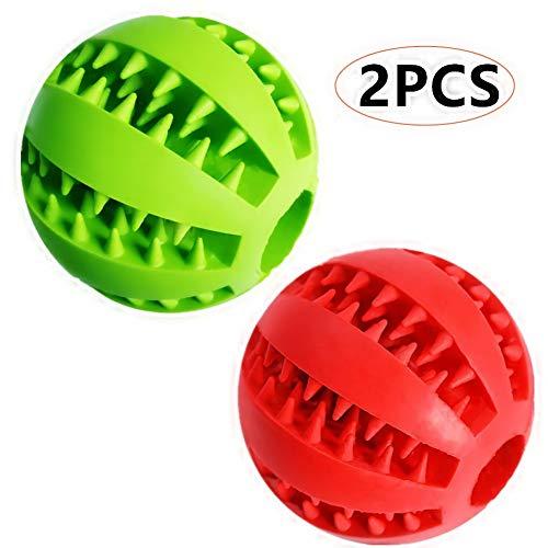 Feixun Hundespielzeug, Ball mit Leckerli-Spielzeug, Gum…   00791280743519