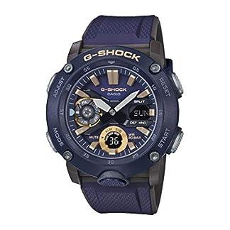 CASIO Reloj Analógico-Digital para Hombre de Cuarzo con Correa en Resina GA-2000-2AER