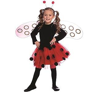 Dress Up America - Conjunto de disfraz de abeja para niños, multicolor, talla M, 8-10 años (841-M)