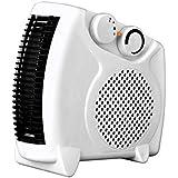 Indus WILLMAX 1210 Blower Type Plastic Room Heater (White)