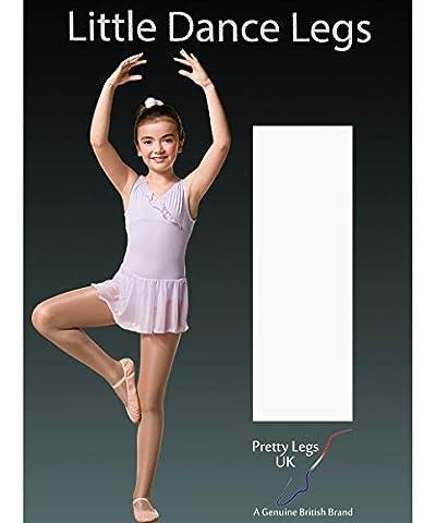 Pretty Legs Collants de danse sans pieds Pour enfant Scintillant 70deniers - - âge 5-7