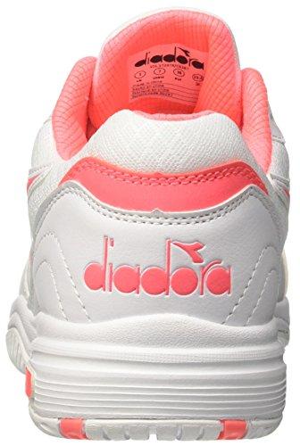 Diadora Damen Smash W Tennisschuhe Elfenbein (Bianco Rosa Sciacca)