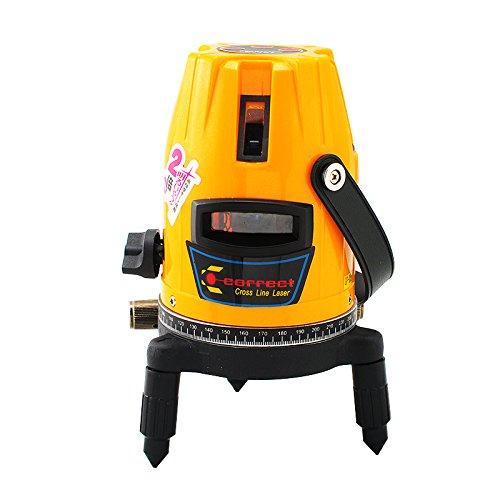 Selbstklebende Linie Professional Denshine innen 8 Bohr- und Meißelhammer Laser Beam Nivellierungsmotor Laser Level Kit außen mit Stativ (Rotary Laser Level Kit)