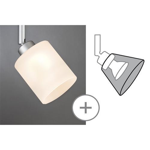 Preisvergleich Produktbild Paulmann 600.04 Lampenschirm, Glas, weiß