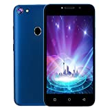 Prevently Smartphone 3G LTE Android 8.1 Handy 2 SIM 4GB WiFi 5MP von AT & T 3G 5,0 Zoll 512+4GB WAP/WiFi (Blue)