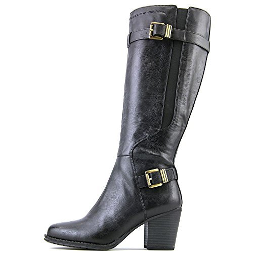 Naturalizer Trebble Cuir Botte Black
