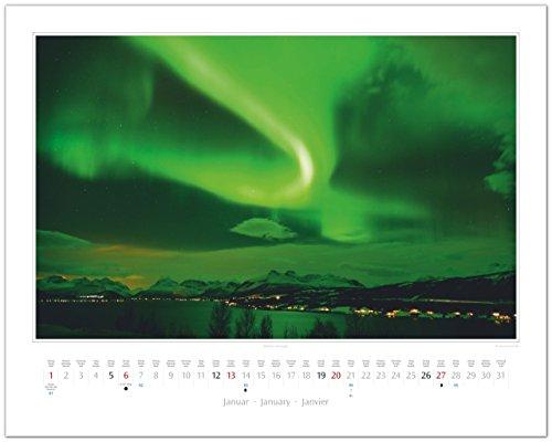 GF-Kalender AURORA BOREALIS - Faszinierendes Nordlicht 2019: Alle Infos bei Amazon