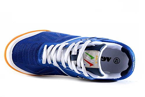AGLA , Chaussures pour homme spécial foot en salle Media Bleu - Navy/White