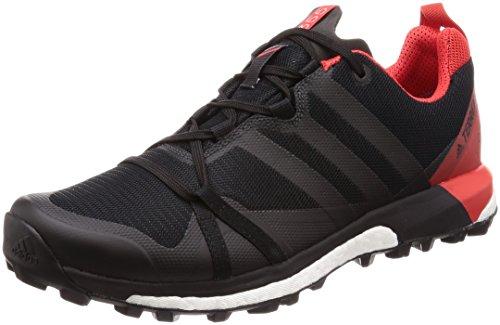 adidas Herren Terrex Agravic GTX Traillaufschuhe, Schwarz (Cblack/Carbon/Hirere Cblack/Carbon/Hirere), 46 2/3 EU