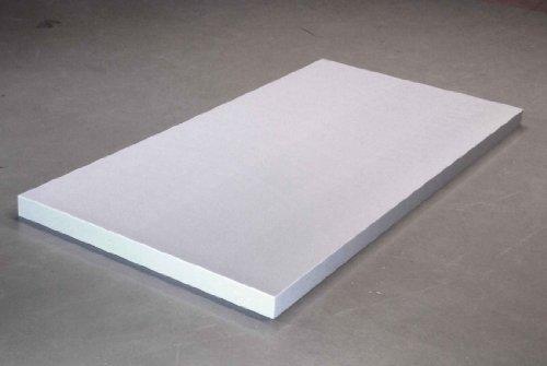 'Basotect® Eine Marke der BASF 1. Platte 62 x 62 x 8 cm weiß Schalldämmung B1