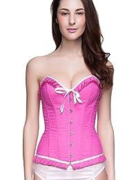 ZARINA Corset para Mujer Color Rosa 8115
