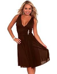 Anmutiges Damen Abendkleid Festliche Abendmode - Ideal als Partykleid Ballkleid