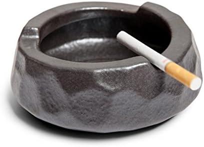 Liuyu · Casa Vivente Posacenere Home in Ceramica Creative Personality Home Posacenere Soggiorno Retro Posacenere alla Moda Retro Glaze di Ferro af7a34