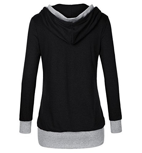 Blooming Jelly - Sweat-shirt - Femme X-Large Noir