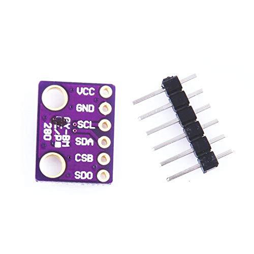 Preisvergleich Produktbild GailMontan GY-BME280-3.3V Hochpräziser Sensor für Atmosphärendruck - Lila