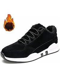 Herren Warm Gefütterte Sportschuhe Sneakers Turnschuhe Wandersche Trekkingschuhe