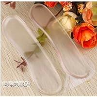 WEIAIXX Stoff-Ferse-Paste High- Heels Silikon Ferse Mit Verdickten Anti-Rutsch-Füße Unsichtbar Transparent Schuhe... preisvergleich bei billige-tabletten.eu