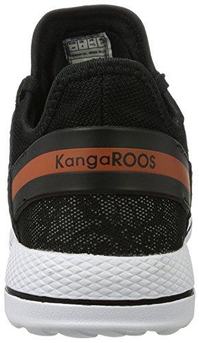 KangaROOS - W-300, Scarpe basse Donna Schwarz (Black/Vapor Grey)